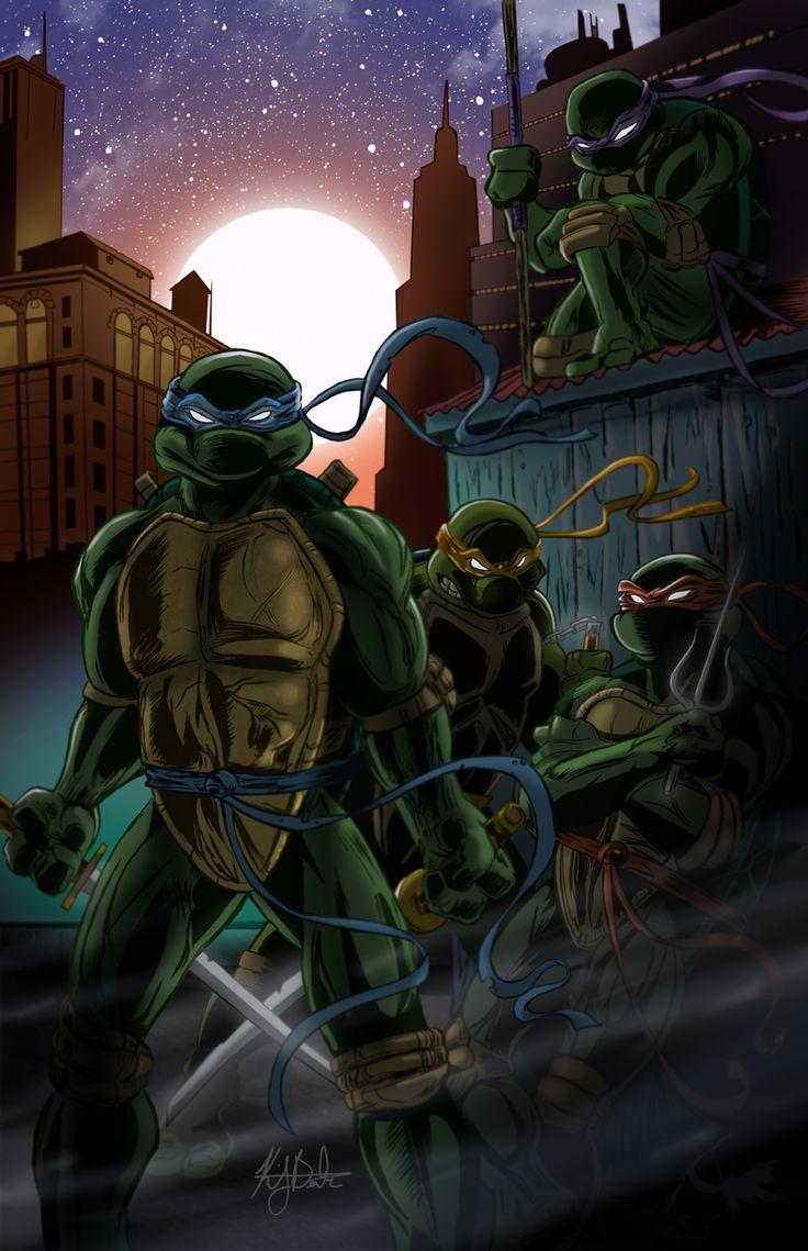 Ninja Turtle Nails: 1000+ Ideas About Ninja Turtles Art On Pinterest