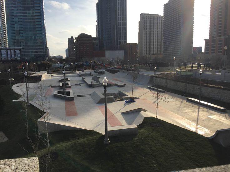 chicago skatepark - Google Search
