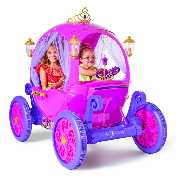 What better way to pretend you're a princess than with your own Princess carriage? A Walmart exclusive that every princess will have in her letter to Santa.
