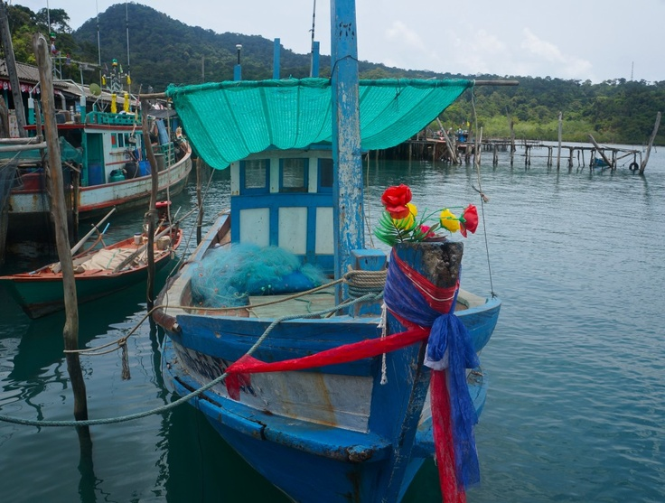 Fishing village by Ao Yai. See more here: http://www.kathrinerostrup.dk/2013/05/exploring-koh-kood-part-ii/