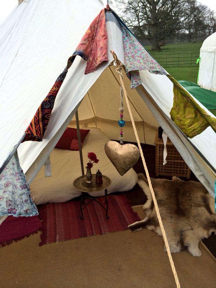 Bell Tent Decor Best 25 Bell Tent Interior Ideas Ideas On Pinterest  Canvas Bell