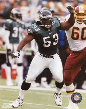 Philadelphia Eagles DE Hugh Douglas