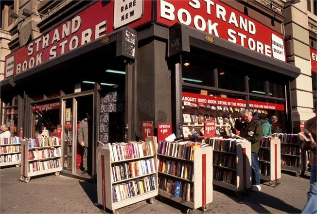 STRAND -  one or my favorite bookstore