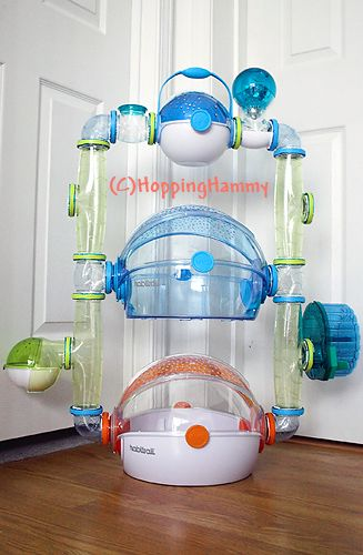 1000 images about cool hamster cages on pinterest for Hamster bin cage tutorial