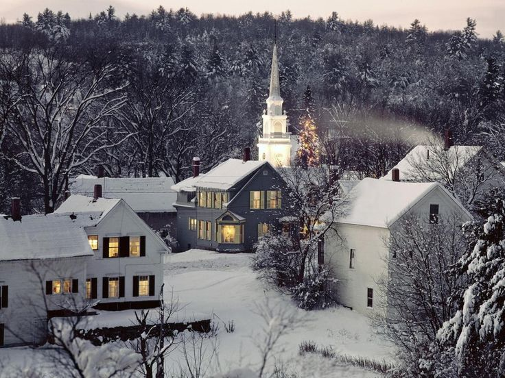 New England Christmas | in new England Wallpaper ...