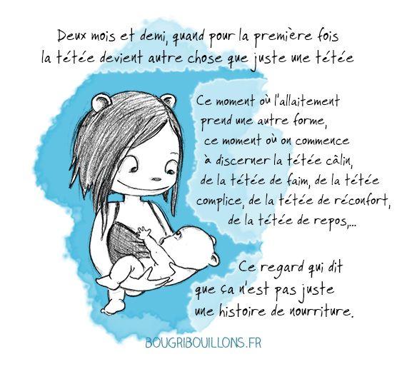 Allaitement - breastfeeding - Bougribouillons