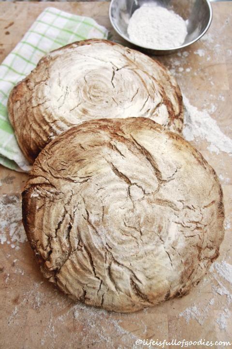 Nachdem im Frühjahr diesen Jahres von meinem Paps ein mehr als nur ansehnlicher Brotbackofen im Garten meiner Eltern erbaut wurde, wurde seitdem natürlich auch vermehrt Brot gebacken. Hier hieß es zunächst: Üben üben üben. Es war nämlich durchaus eine Umstellung vom normalen Brotmachen im Küchenbackofen zum Backen der Laibe in einem richtigen Holzofen. Aaaaaaber: Übung …Weiterlesen…