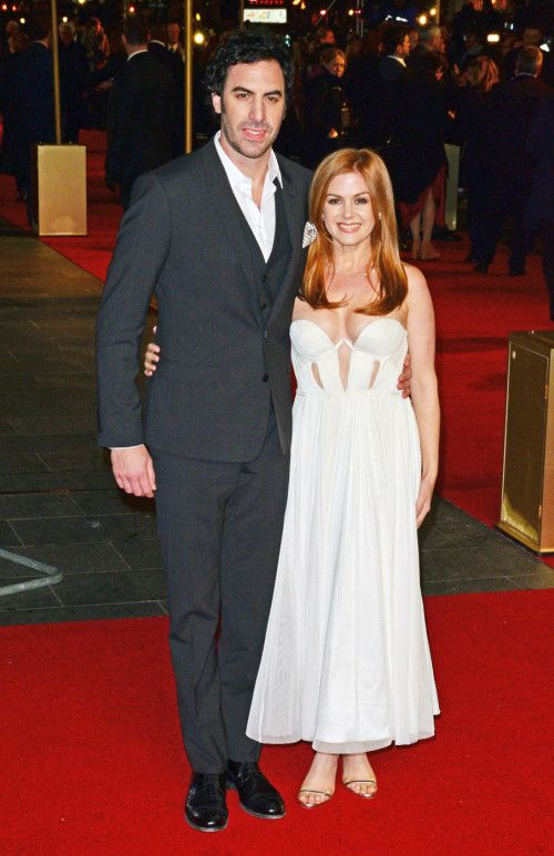 Isla Fisher & Sacha Baron Cohen Expecting Third Child