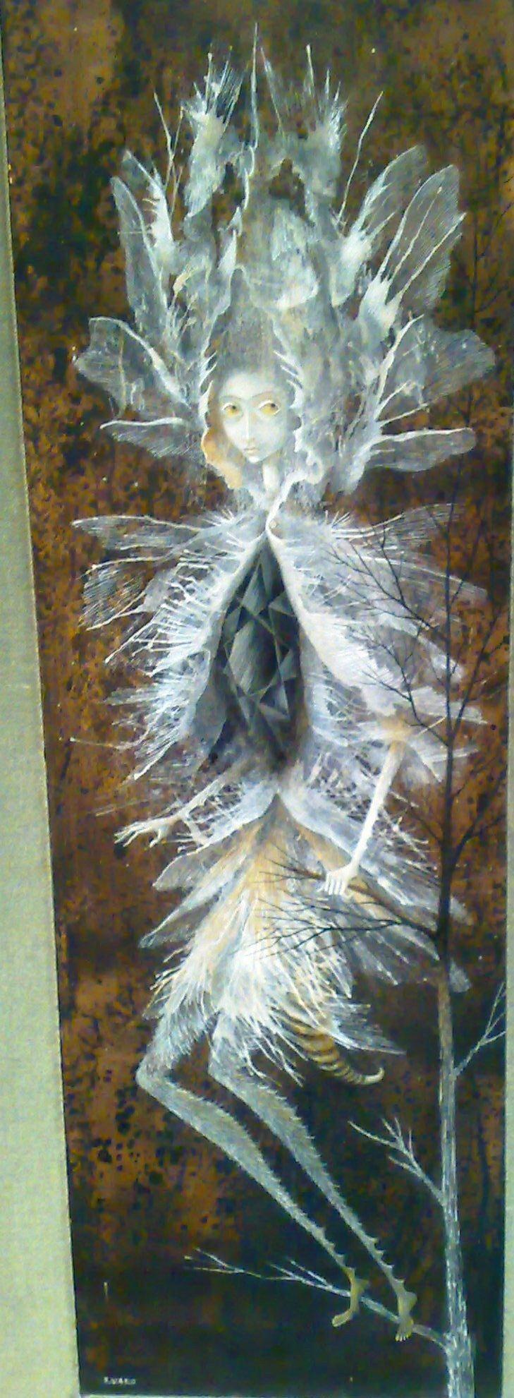 Remedios Varo: Mujer libélula.