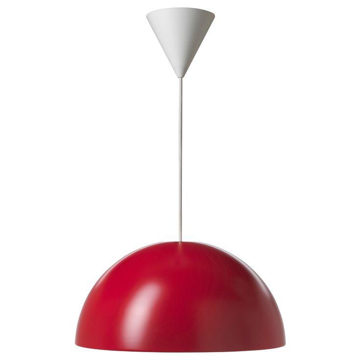 IKEA - IKEA 365+ BRASA, Pendant lamp, , Plastic inner casing prevents…
