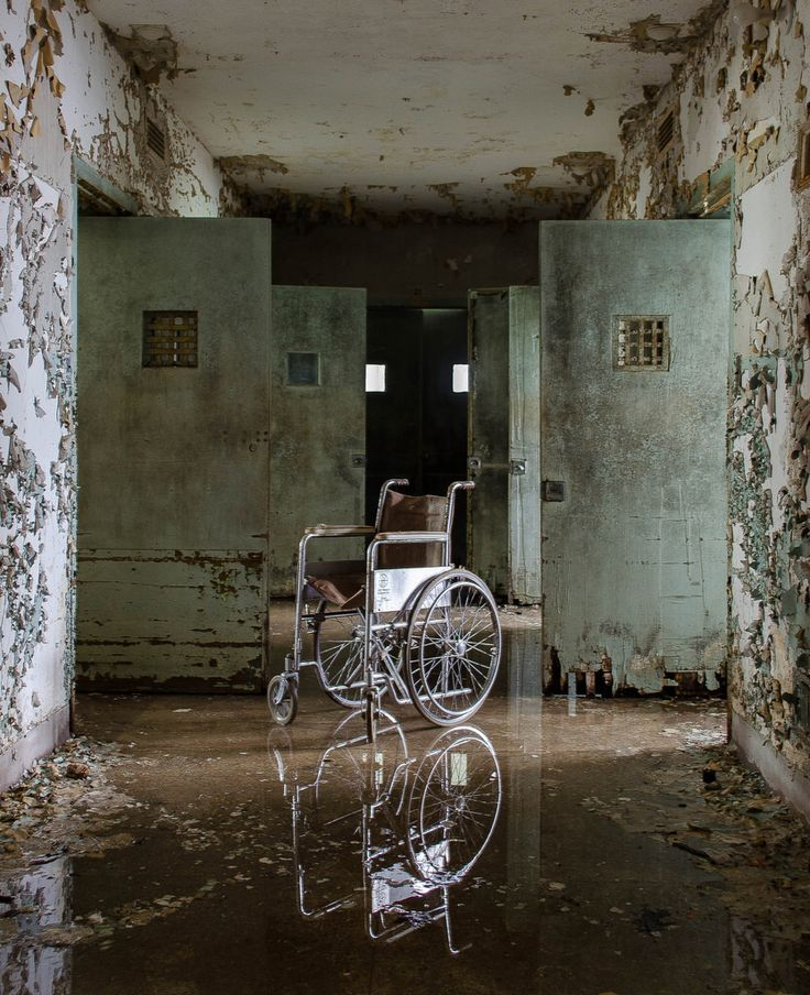 Abandoned Hospital, Hospital Photography