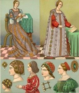Capigliatura femminile nel Rinascimento italiano