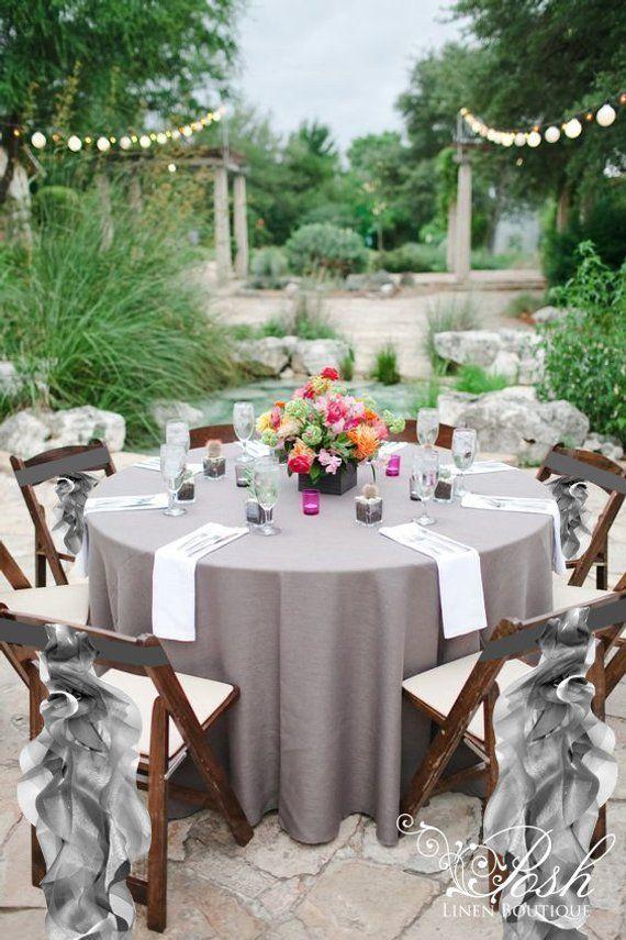 Silver Wedding Chair Sashes Wedding Chair Covers Wedding