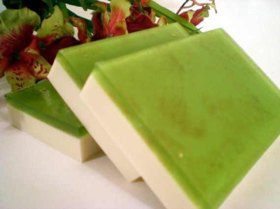 Handmade Shea Butter and Glycerin Soap  by ThePigAndThePeacock, $5.00