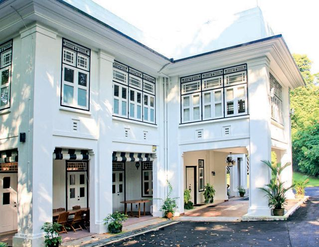 Black And White Houses In Singapore: A Colonial Tour Of
