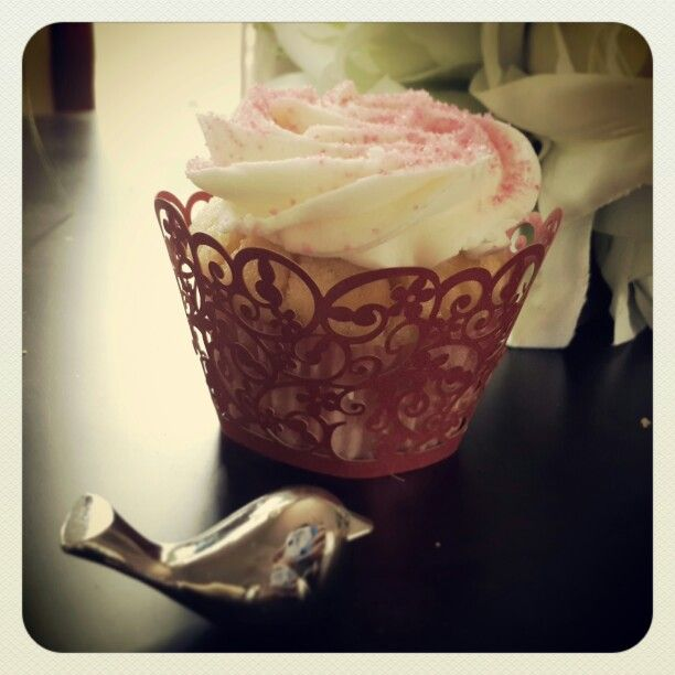 This time with a cupcake!