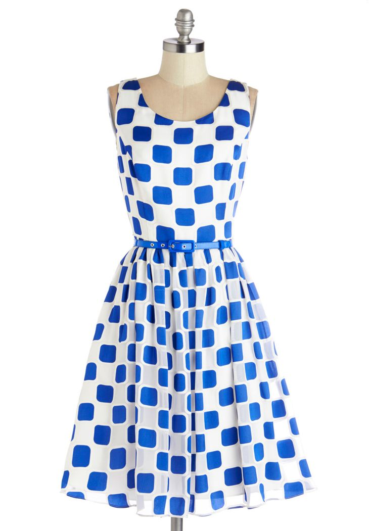 Squaring is Caring Dress - A little expensive for me, but oh so cute!