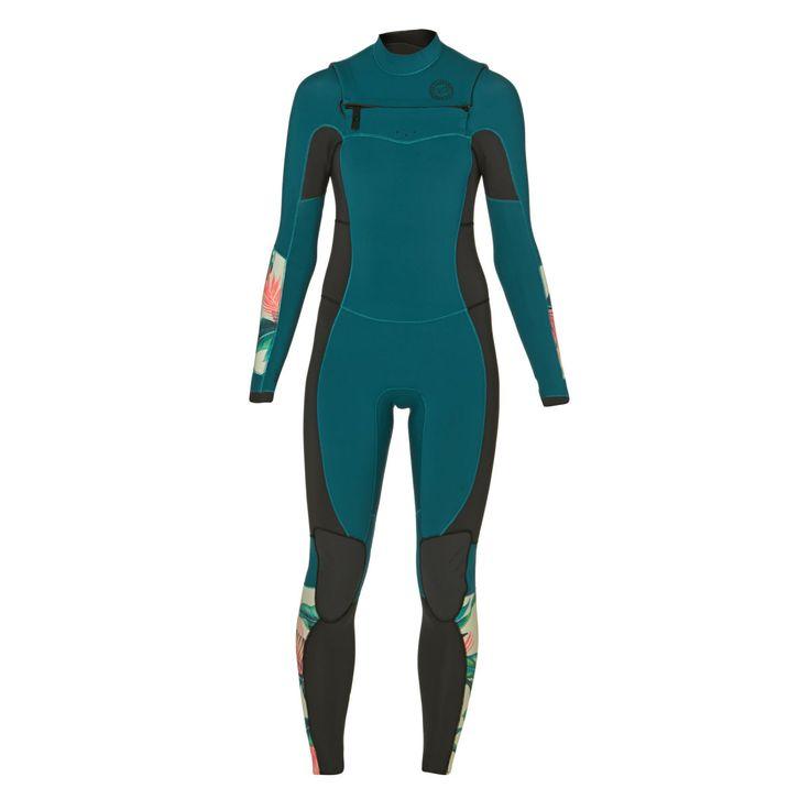 Billabong Womens Salty Dayz 5/4mm 2017 Chest Zip Wetsuit Suit