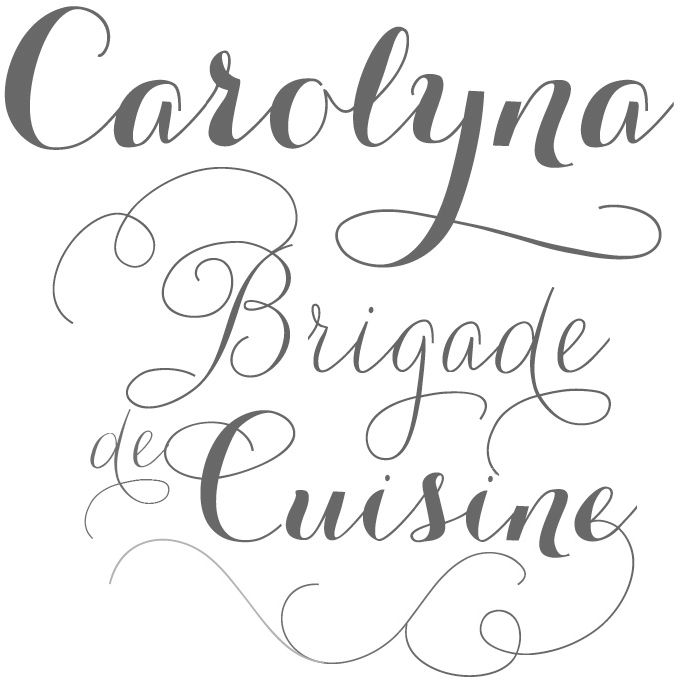 hand lettering fonts free emily lime carolyna typography amp design 31441