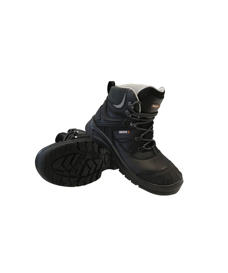 Apollo/S3 - Midcut safety shoe UNI EN ISO 20345:2012/SRC WR HRO HI: Rely on the APOLLO S3-safety shoes for heavy duty work. These hardwearing, waterproof, antistatic and zero perforation safety shoes provide a superior protection at every step, on any type of floor.