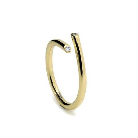 Srebrny pierścionek LINE ARGENT