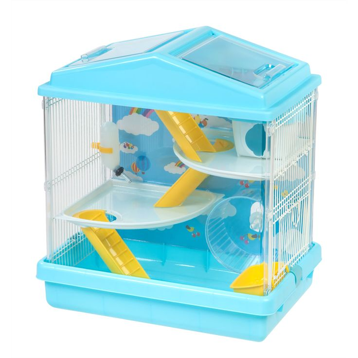 Iris USA 3-tier and Red Hamster Cage
