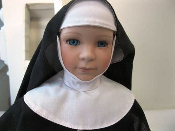 Kingstate Sister Maria Musical Nun Doll Stand by ChevyLovesLaura2