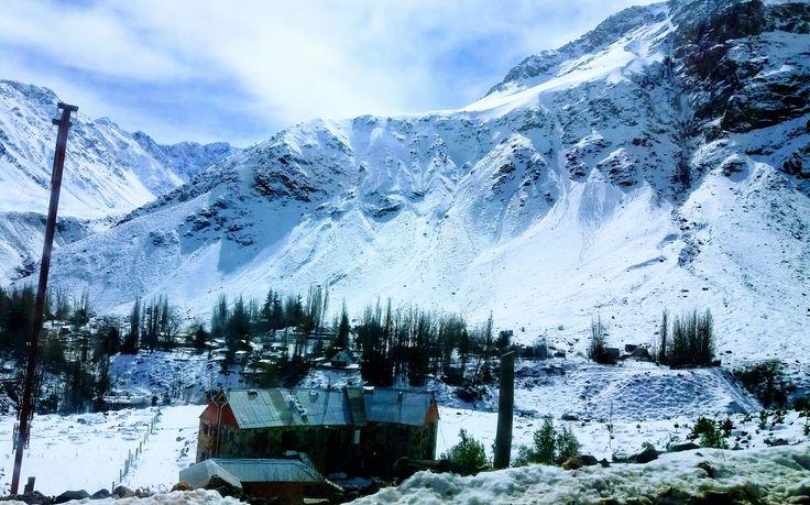 Cajon del Maipo Santiago de Chile Invierno 2017