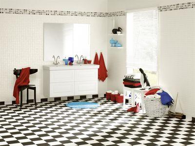 Aquarelle Designgolv 3 m BLACK&WHITE 24554003