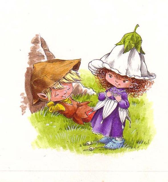 Original Victoria Plum illustration