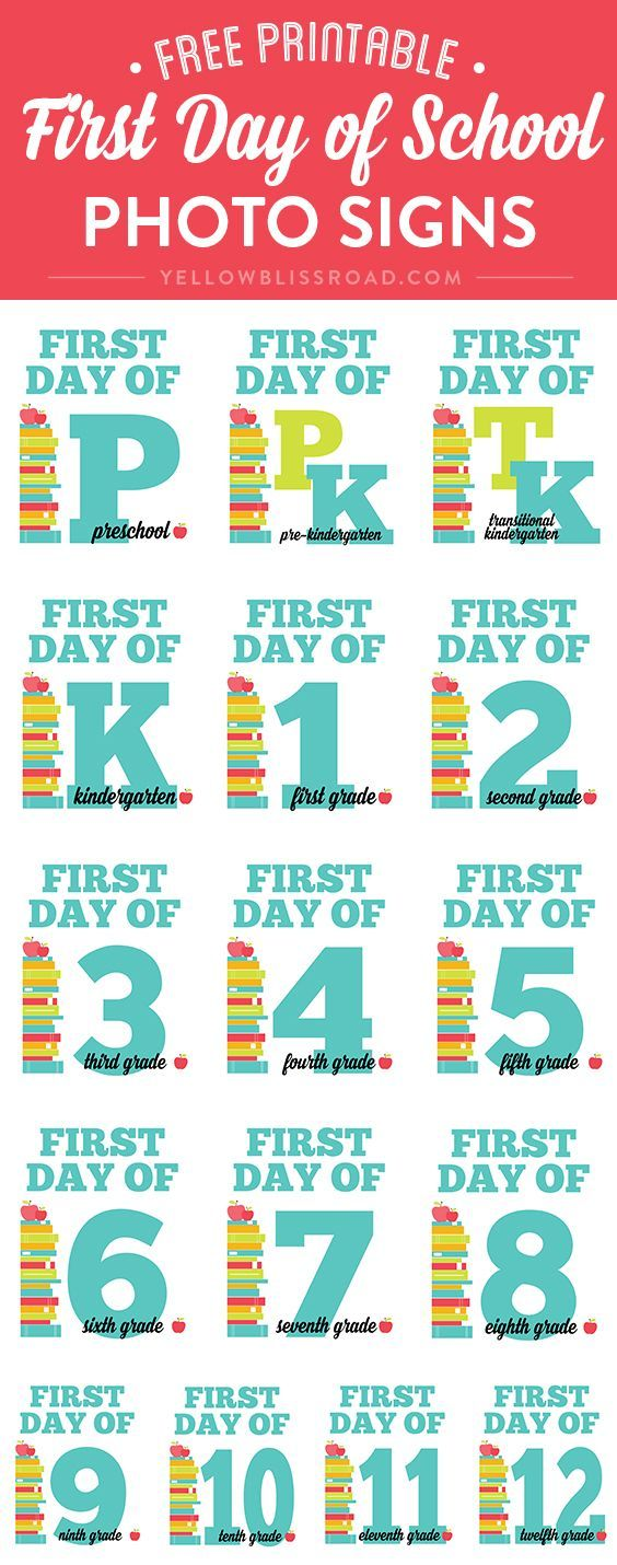 Be ready for those classic Back to School photos with these First Day of School Signs and Interviews! Can you believe July is practically half over?? I can't either…I'm just going to pretend that it's still March and we're getting ready for Easter. Seriously, though, the year has really just flown by and I'm finding …