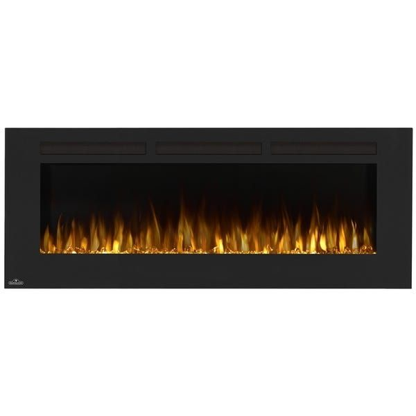 Shop Allure 60 Inch Wall Mount Electric Fireplace With Remote