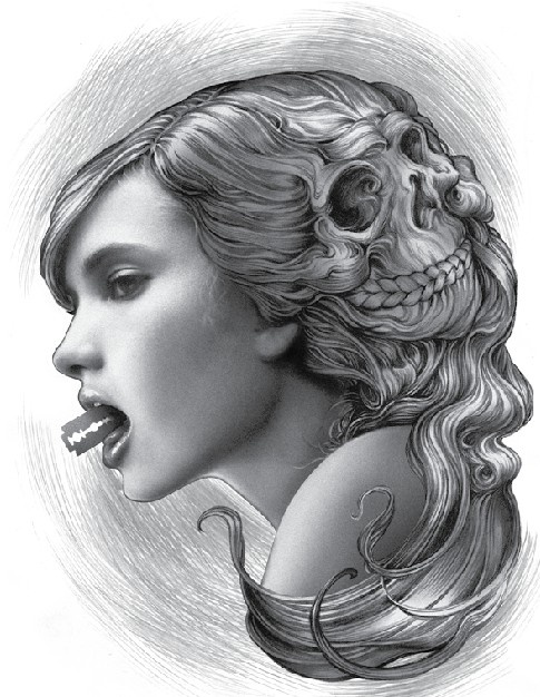 Both terrifying and beautiful all at once. #art #ecko