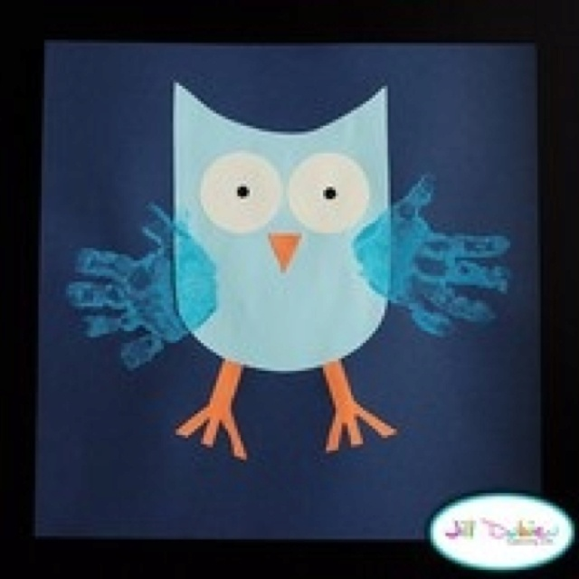 Cute owl creation for child's room