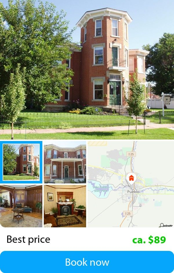 The Edgar Olin House Bed And Breakfast Pueblo Usa Book This