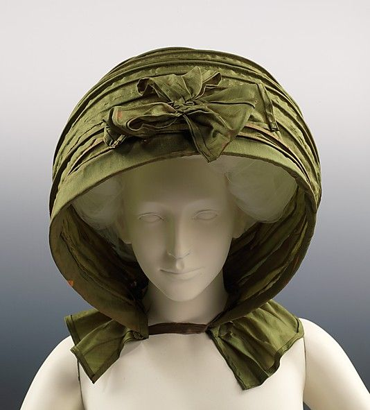 Calash    Date:      ca. 1790  Culture:      American  Medium:      silk  Dimensions:      12 1/2 x 20 1/2 in. (31.8 x 52.1 cm)  Credit Line:      Brooklyn Museum Costume Collection at The Metropolitan Museum of Art, Gift of the Brooklyn Museum, 2009; Gift of Mrs. Frederick H. Prince, Jr., 1967  Accession Number:      2009.300.2889