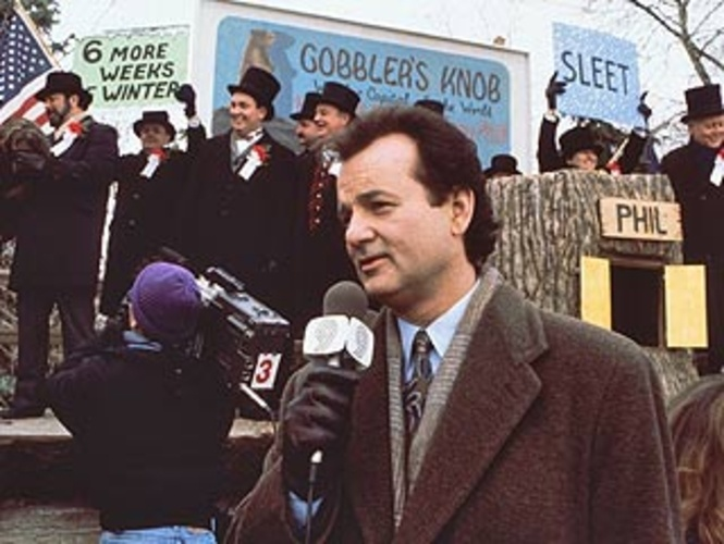 character analysis of phil connors in groundhog day a movie by harold ramis Rita, and larry are sent on an assignment that phil especially loathes: the annual groundhog day  phil, the groundhog who will  harold ramis's direction is.