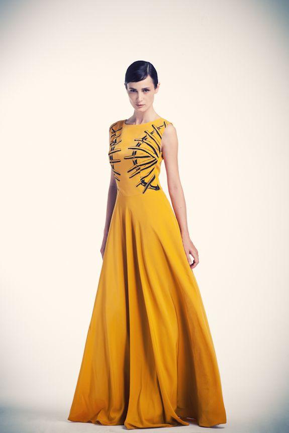 Gaudian fence  printed maxi dress  www.asliguler.com to shop online