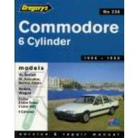 Holden Commodore VL Workshop Repair Manual with MPN GAP04238