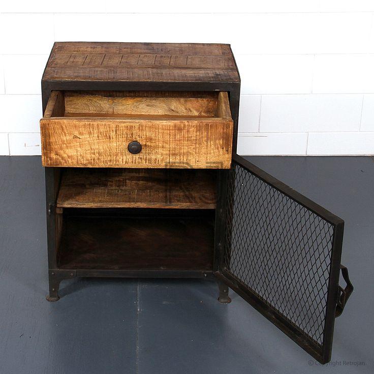 Buy Bob Bedside Tables/Side Table | Retro Bedside Table | Storage Solutions – Retrojan
