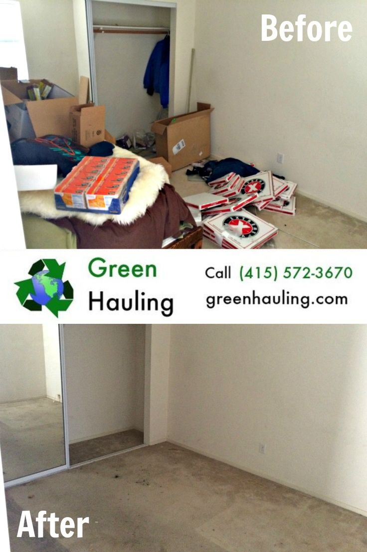 Call Green Hauling For Your Junk Removal In The Bay Area We Are Fast