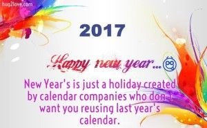 Funny New Year 2017 Status to Wish with Jokes