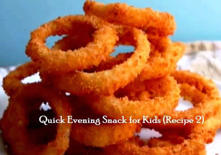 Tip# 83: Quick Evening Snack For kids (Recipe 2)Onion rings | Bhojana Recipes