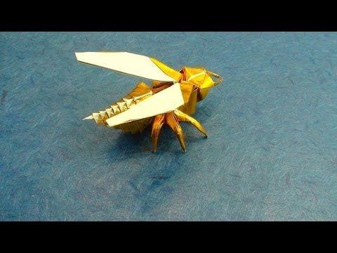 Wasp Origami Tutorial (Avispa, Anibal Voyer)