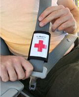 Medipal's Seatbelt ID is a Medical Alert! Great for anyone on medication