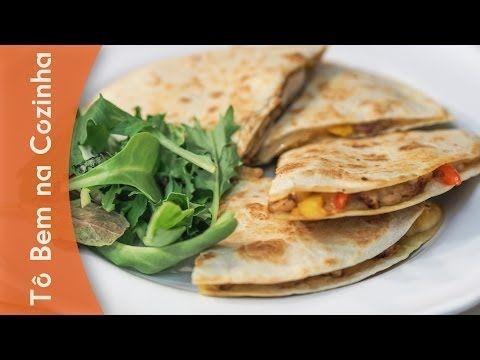QUESADILLA DE FRANGO - Receita de quesadillas de frango (Episódio #6) - YouTube