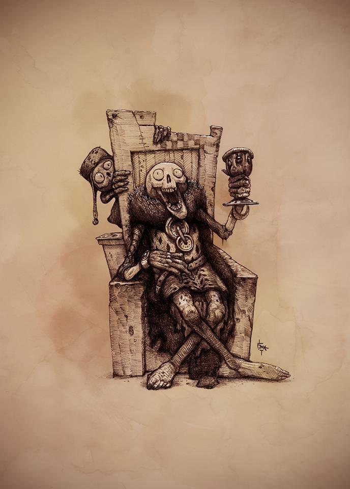 Humorous Skull por Dumaker