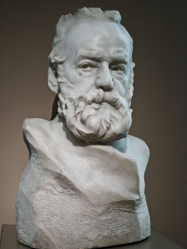 Bust Of Victor Hugo By Auguste Rodin In 2019