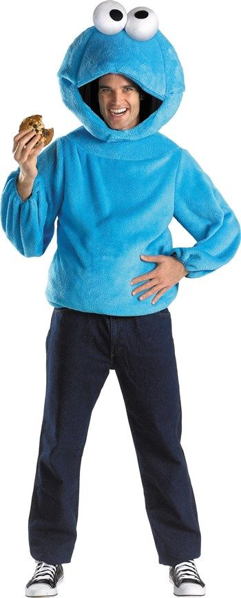 Cool Costumes Sesame Street Cookie Monster Teen Costume just added...