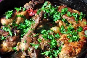 Kırma Tavuk Kebabı